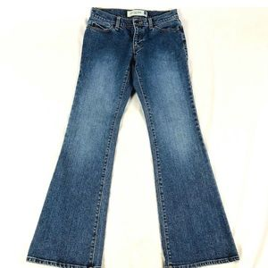 Gap Juniors Sz 1 Low Rise Flare Jeans